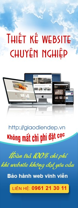 Banner banner dien thoai