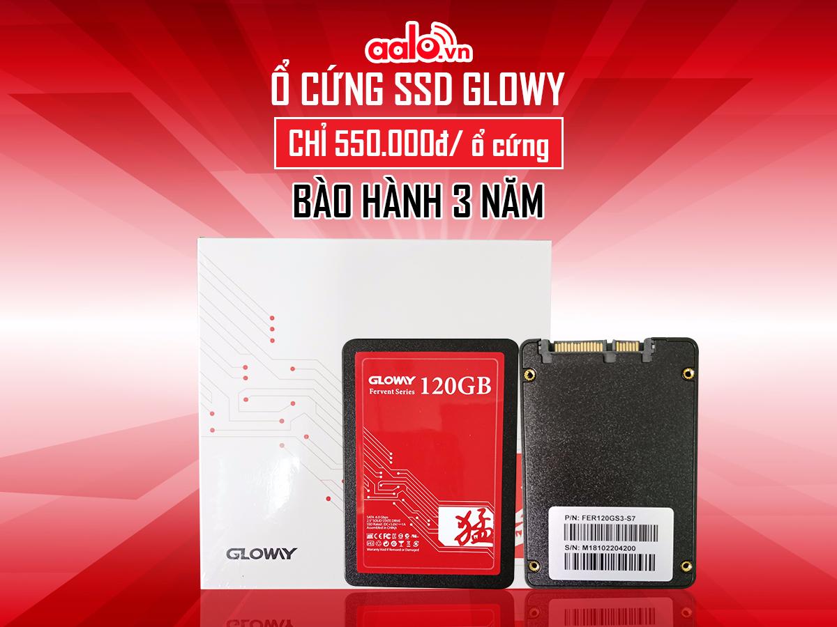 Ổ CỨNG SSD GLOWY CHỈ VỚI 550K