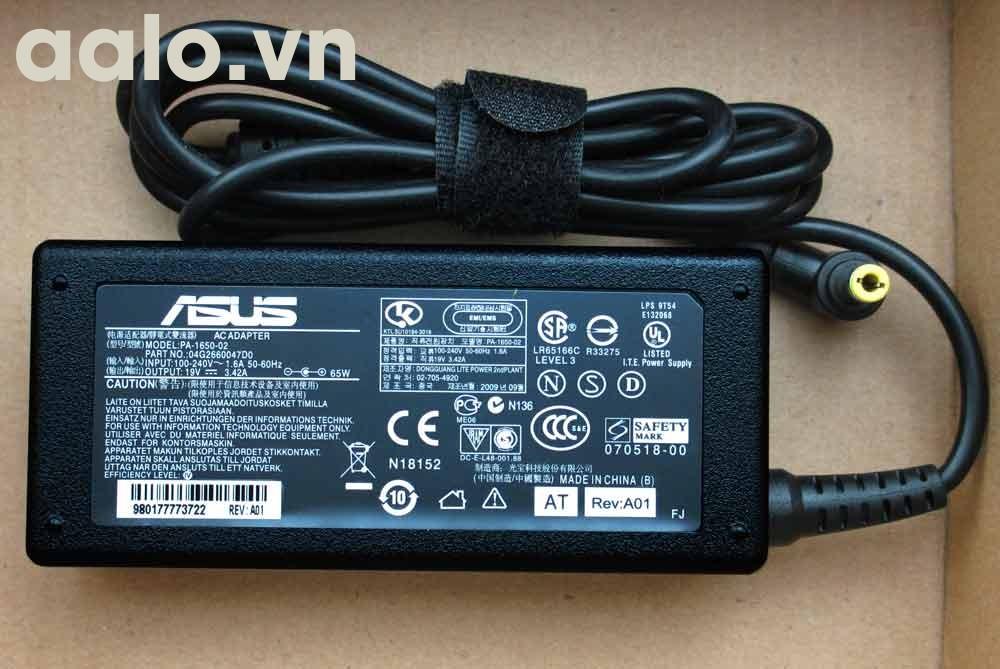 Sạc laptop Asus X85S A8000