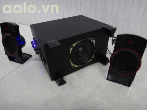Loa EBUSS 818S chuẩn 2.1 cắm thẻ nhớ SD - USB cấp điện 220V ( chính hãng )