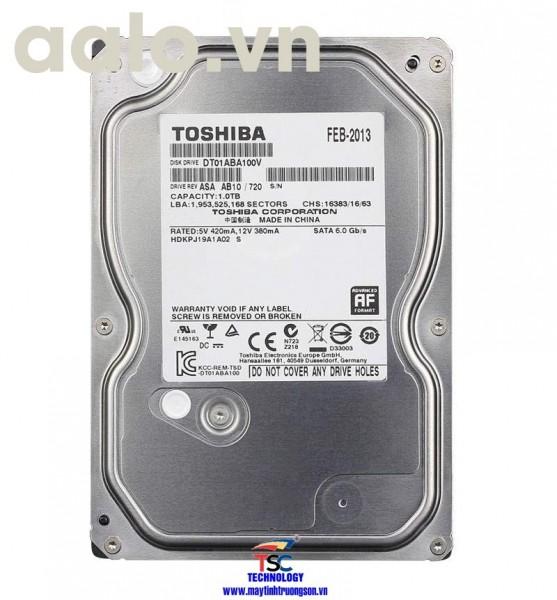 Ổ cứng Toshiba HDD 6TB | dùng cho máy tính bàn/ Camera
