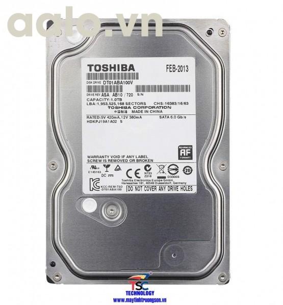 Ổ cứng Toshiba HDD 4TB | dùng cho máy tính bàn/ Camera
