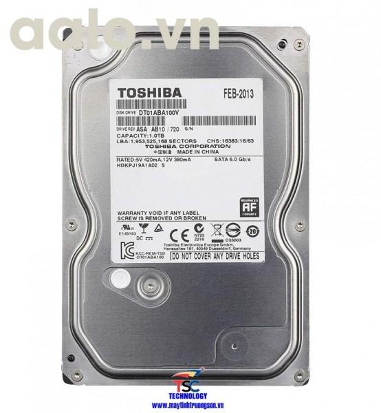 Ổ cứng Toshiba HDD 2TB | dùng cho máy tính bàn/ Camera