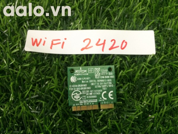 Vỉ WiFi laptop Dell 2420