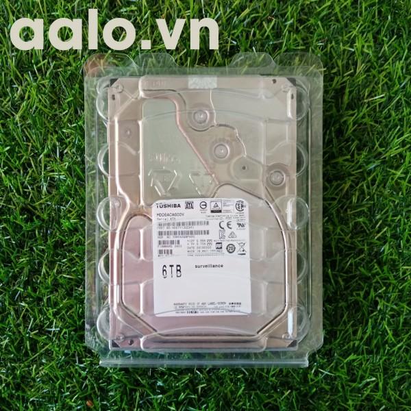 Ổ cứng HDD Toshiba 6Tb Chuyên dụng chất lượng cao.