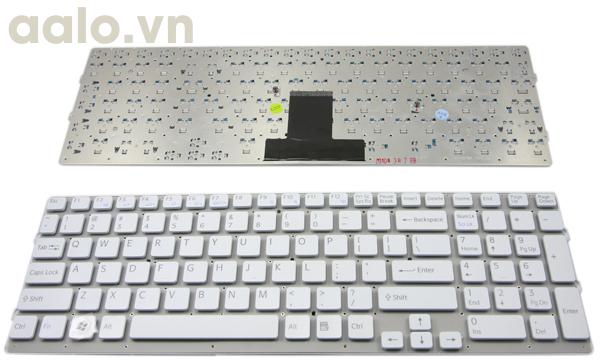 Phím Laptop Sony EB trắng