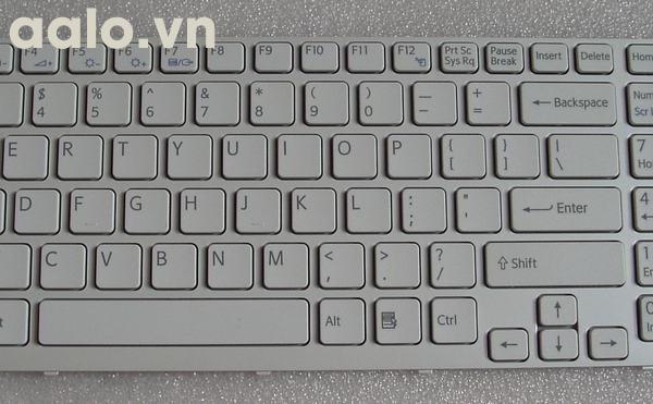 Phím Laptop Sony CB trắng