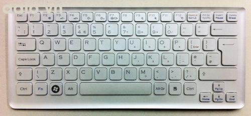 Bàn phím laptop Sony NEW SONY VGN-CS1 VGN-CS2 series KEYBOARD White p/n 148701412 - keyboard Sony