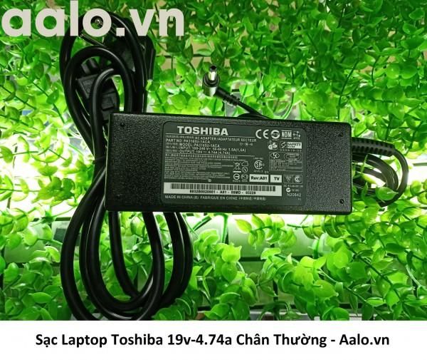 Sạc Laptop Toshiba 19v-4.74a Chân Thường