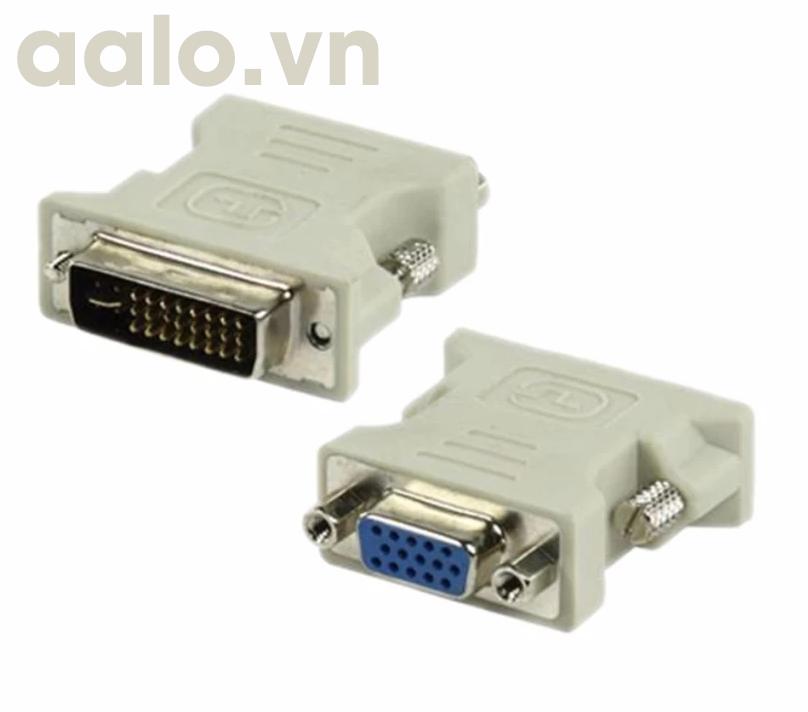 Cục chuyển DVI 24+5 ra VGA