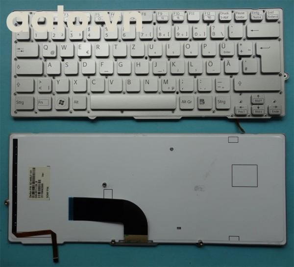 Bàn phím laptop Sony Tastatur SONY Vaio VPCSD VPC-SD VPC-SB26 VPC-SB2L1E/W LED Backlit Keyboard- keyboard Sony