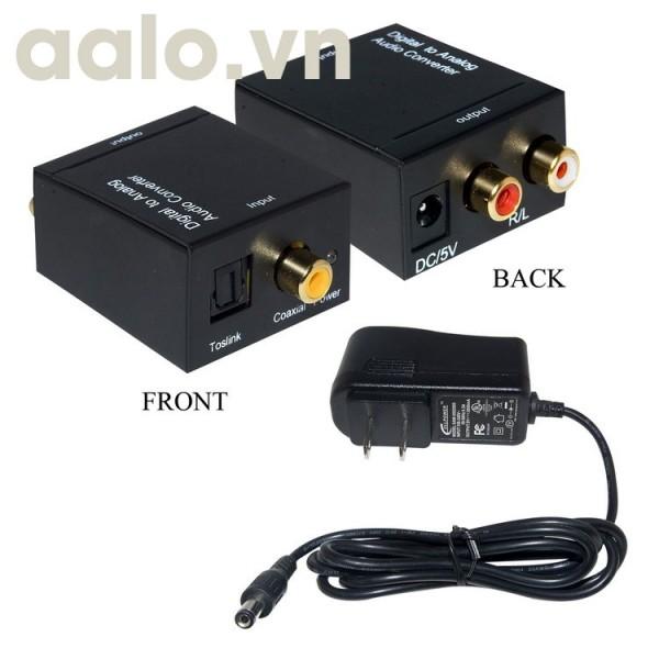 Bộ chuyển đổi âm thanh Quang OPTICAL ra AV ( Audio ) chất lượng tốt