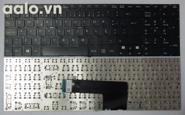 Bàn phím laptop SonySVF15 SVF15A SVF15E Portugal laptop keyboard po Black- keyboard Sony