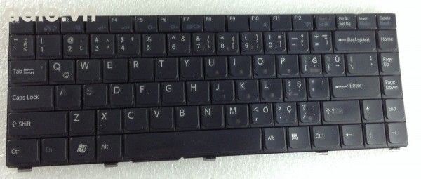 Bàn phím laptop Sony Sony Vaio VGN SZ780 PCG 6W3L Keyboard Turkish Turkce Türkçe Klavye 148023131 - keyboard Sony
