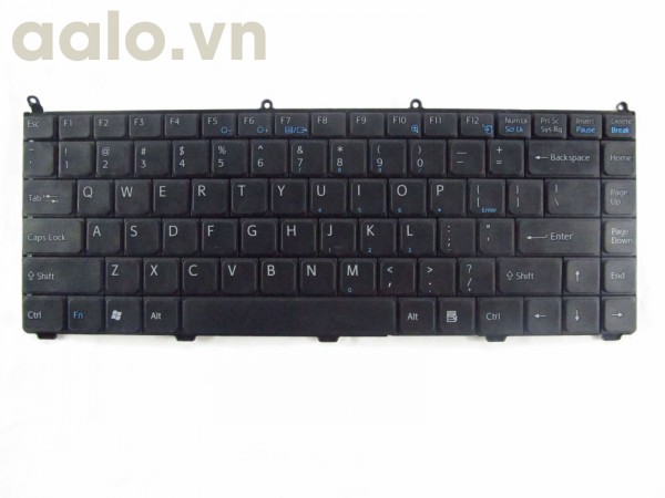 Bàn phím laptop Sony  Vaio VGN-FE550G Black US - keyboard Sony