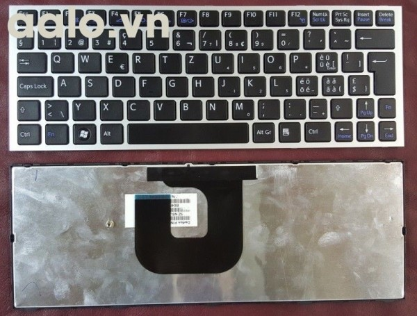 Bàn phím laptop Sony Keyboard Clavier Francais AZERTY SONY VPC-YA, YB Noir Black - keyboard Sony