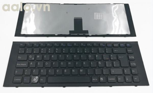 Bàn phím laptop SonyVPC-EG VPCEG LA Laptop Keyboard With Frame Black - keyboard Sony