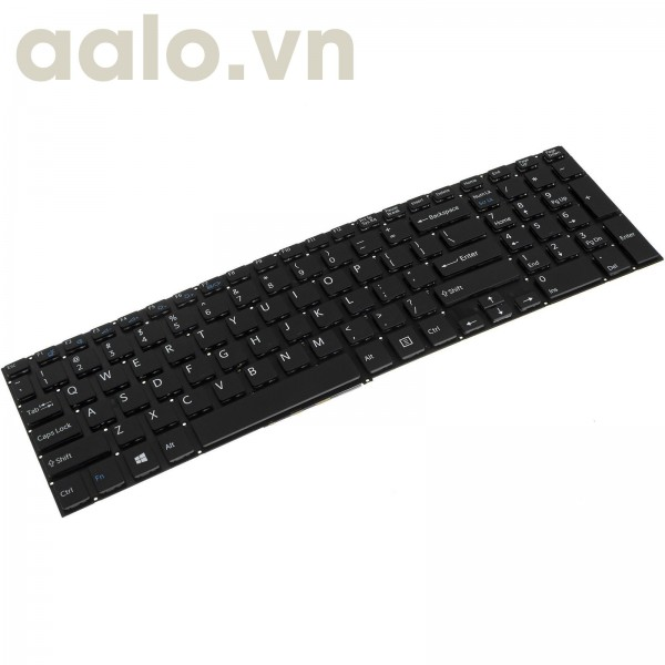 Bàn phím laptop SonyVaio SVF15A15STB Laptop / Notebook QWERTY US English- keyboard Sony