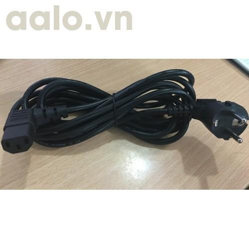 Dây nguồn 3 lỗ Adapter dẹt ( chất lượng tốt dài 1M8)