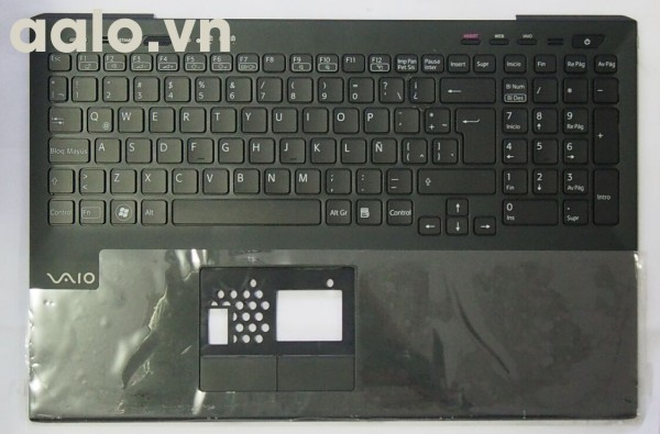 Bàn phím laptop SonyFor Sony Vaio VPC-SE VPCSE Series Black C shell Latin LA - keyboard Sony