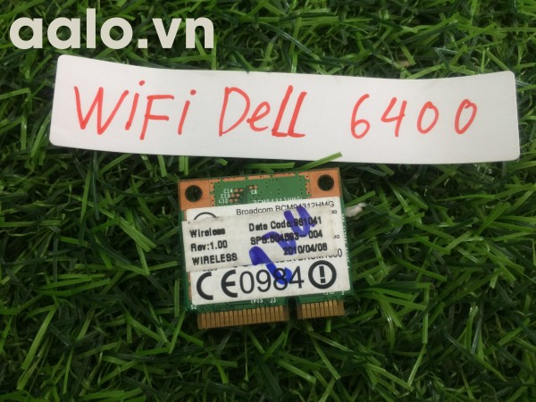 WiFi laptop Dell 6400