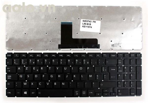 Bàn phím laptop TOSHIBA L50-B, L50D-B - keyboard TOSHIBA