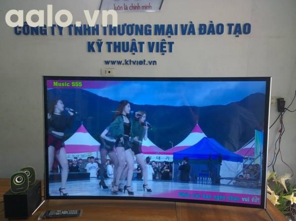 Smart TV DSC màn hình cong độ phân giải 4K - Android TV