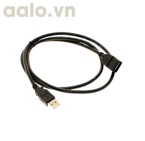 Dây USB nối dài 1M5 ( đen )