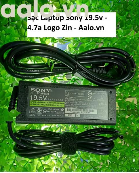 Sạc Laptop Sony 19.5v - 4.7a Logo Zin