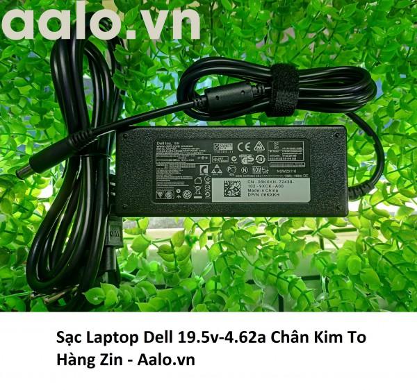 Sạc Laptop Dell 19.5v-4.62a Chân Kim To Hàng Zin