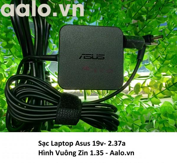 Sạc Laptop Asus 19v- 2.37a Hình Vuông Zin 1.35
