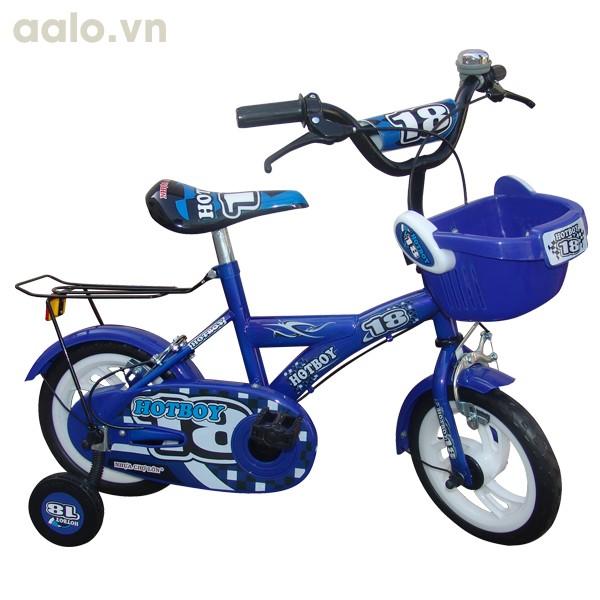 Xe đạp trẻ em cao cấp Aier 7 cỡ 12 inch (Xanh)