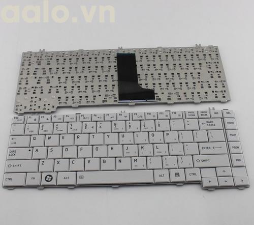 bàn phím laptop Toshiba Satellite L640 C640 trắng