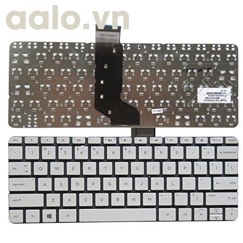 Bàn phím laptop HP 11-d 11-d011wm 11-D010WM 792906-001 794447-001 white - keyboard HP