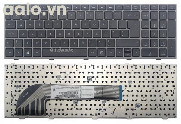 Bàn phím laptop HP 4540s 4545s UK keyboard With Frame- keyboard HP