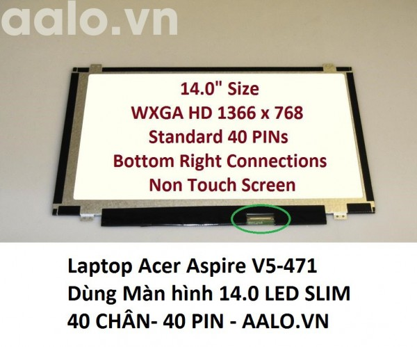 Màn hình laptop Acer Aspire V5-471