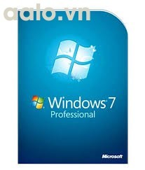 Key Windows 7 Professional English 32/64 Bit OEM 1 PC