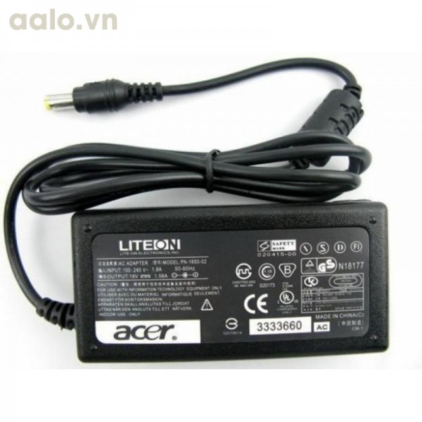 Sạc pin laptop Acer 19V 4.7A - Adapter ACER