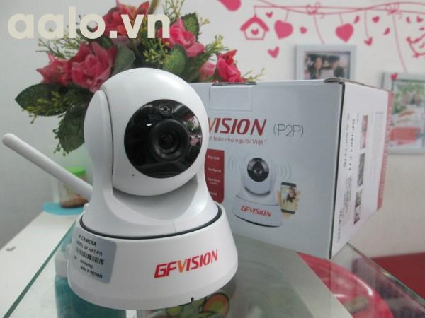 Camera không dây 2 râu GFVISION IP P2P Wifi