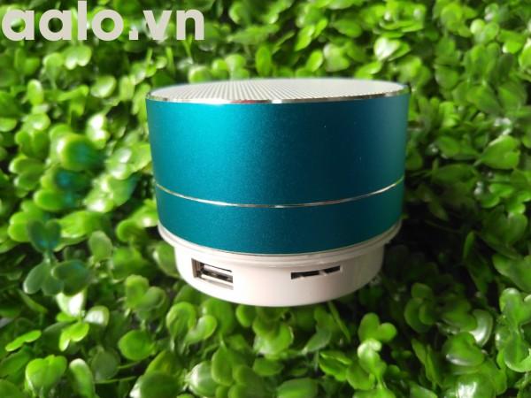 Loa Bluetooth A10 Mini Vỏ Nhôm Di Động Hỗ Trợ Thẻ Nhớ USB AUX
