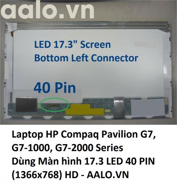 Màn hình laptop HP Compaq Pavilion G7, G7-1000, G7-2000 Series