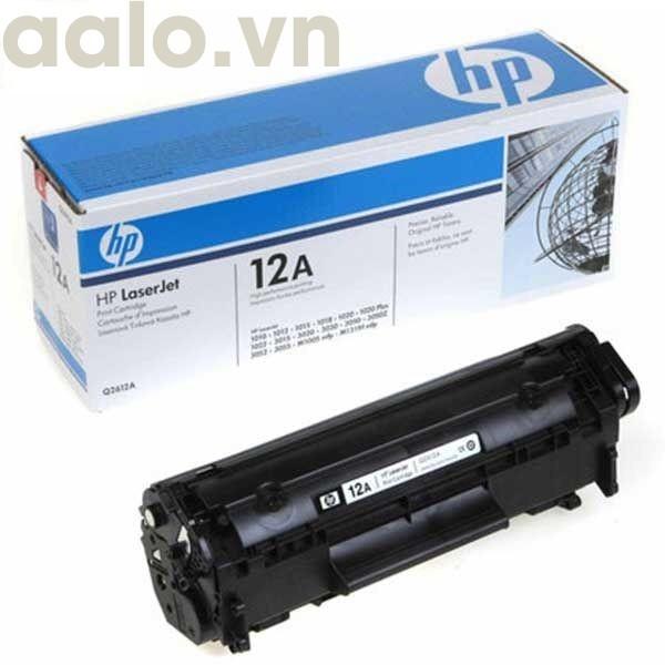 Hộp mực máy in 12A cho máy in 2900,3000,303 - aalo.vn