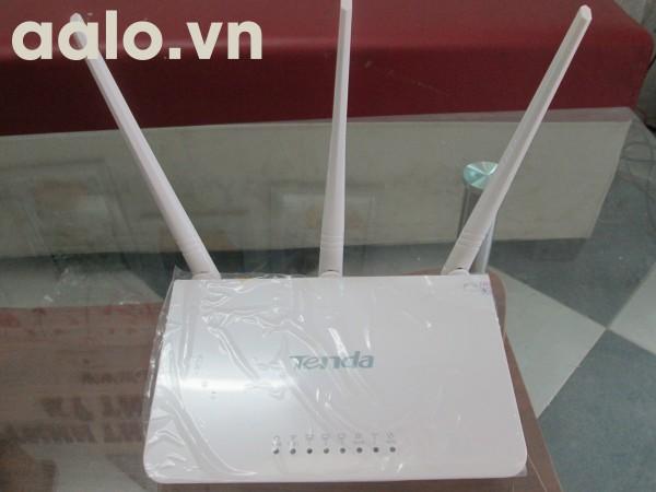 Wireless Router wifi Tenda F3  - Bộ phát wifi 3 râu (trắng)