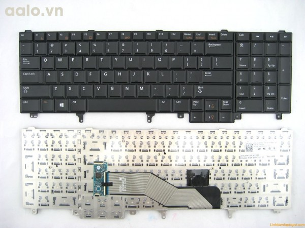 Bàn phím laptop Dell Latitude E6520, E5520, M4600, M6700  - Keyboad Dell