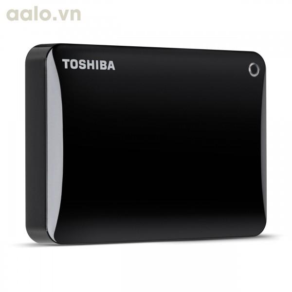 Ổ cứng di động Toshiba Canvio Connect II 3.0 Portable 2TB Đen