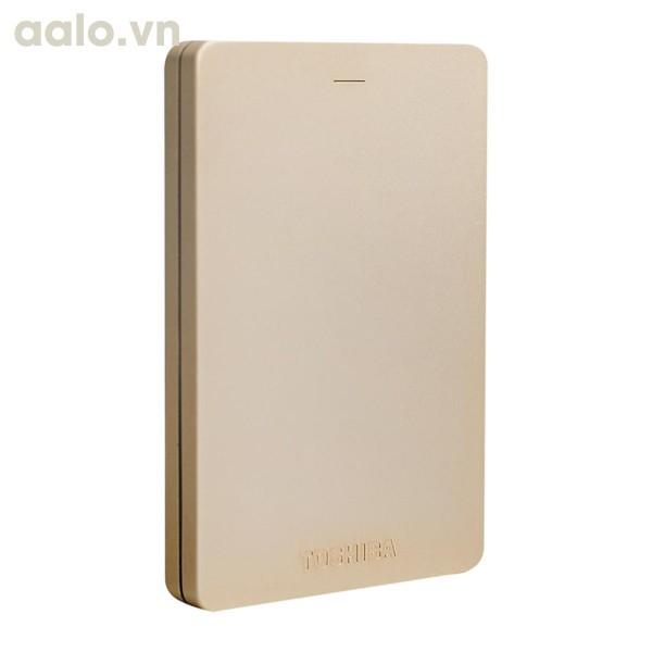 Ổ cứng di động Toshiba Canvio Alumy 1TB 3.0 Vàng