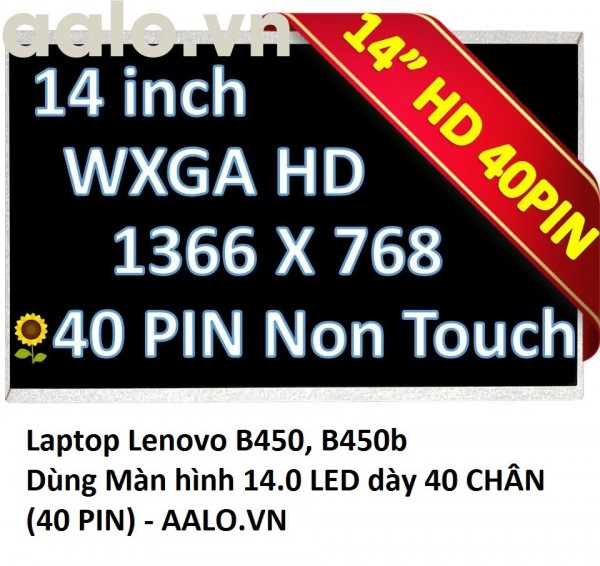 Màn hình Laptop Lenovo B450, B450b