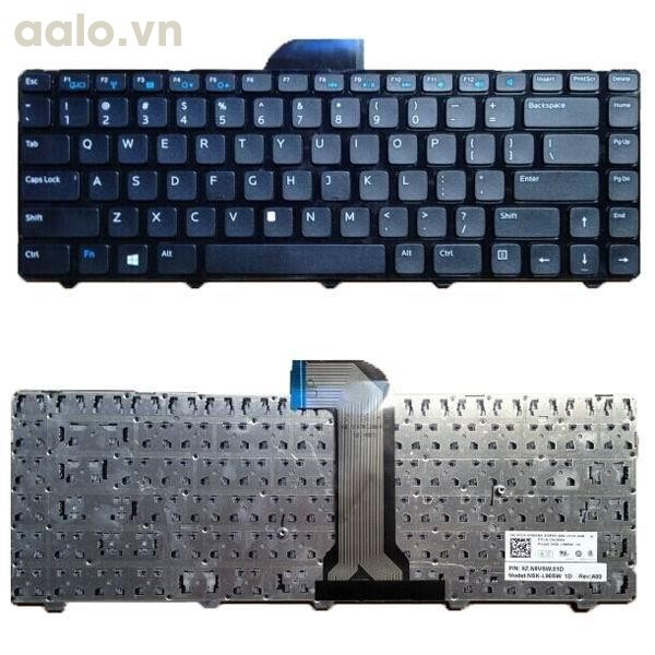 Bàn phím laptop Dell Inspiron 14R 3421, 2421, 5421 - Keyboard Dell