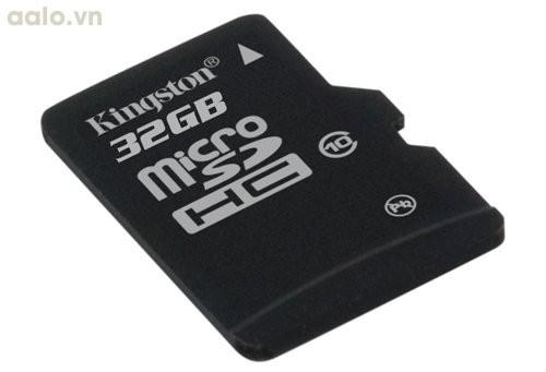 Thẻ nhớ Kingston 32GB Micro SDHC C10 UHS (Đen)