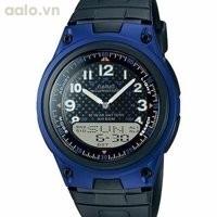 Đồng hồ thể thao dây nhựa Casio AW-80-1AVDF
